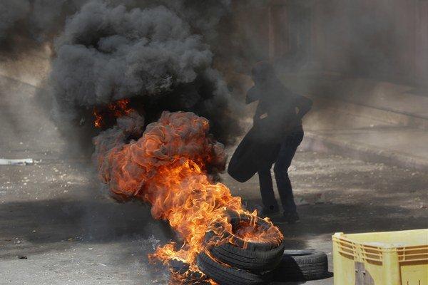 Násilie je v Palestíne na dennom poriadku.