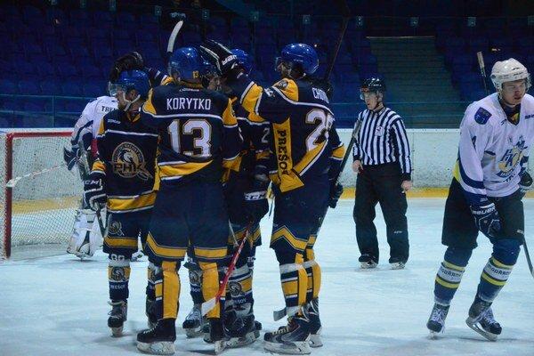 Prešovskí hokejisti mali dôvod dôvod na radosť častejšie v lanskej fáze ročníka.