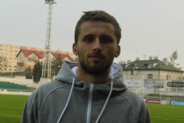 Prešovský útočník Pavol Šafranko.