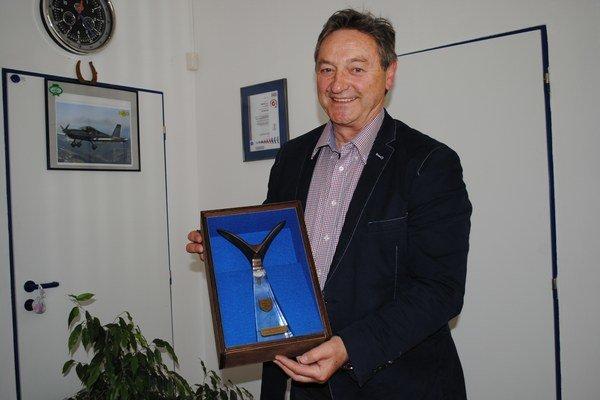Národnú cenu získal Daniel Tomko vlani v Sliači.