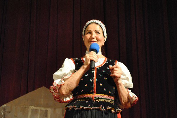 Mária Mačošková. Oslávila 75 rokov jubilejným koncertom.