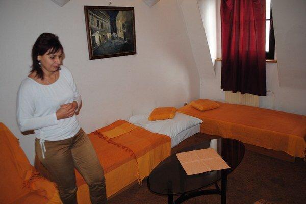 Penzión Átrium. Sabina Lišková potvrdila, že aj tu hodovali, ubytovali sa  a nezaplatili.