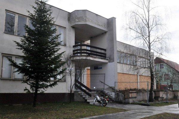 Budova, kde bude po rekonštrukcii sídliť škôlka.