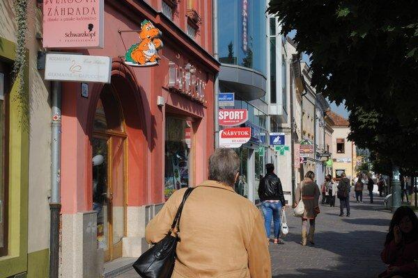 Prešov. Najčastejšie vznikajú nové obchodné a reštauračné prevádzky.
