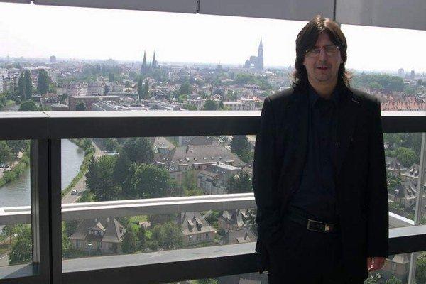 Michal Frank. Jeho cesta do Štrasburgu nebude prvá, nový bude len parlament.