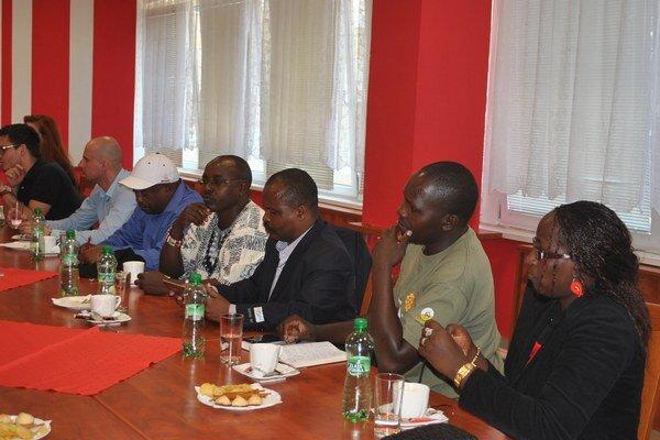 Delegácia z Kene zavítala do Prešova.