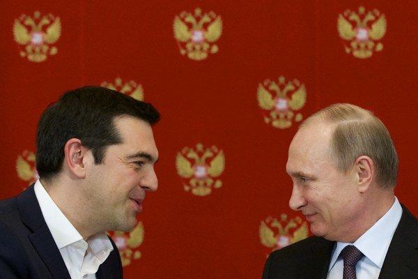 Tsipras a Putin: Hlavne, že si rozumieme.