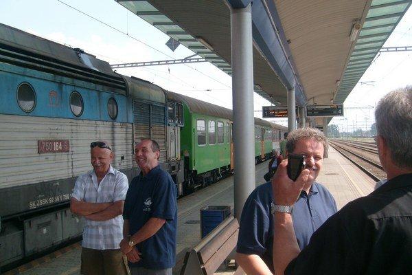 Železničná stanica. Študenti sa dostanú do Bratislavy už aj z Prešova.