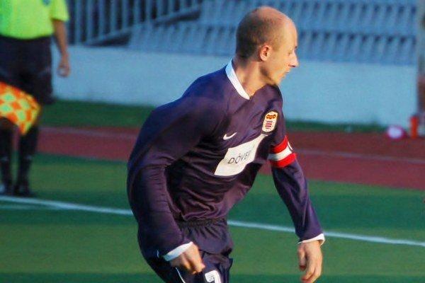 Spomienka. Marek Seman prešiel rôznymi klubmi, v tomto prípade účinkoval ako kapitán v B. Bystrici.