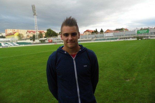 Adam Jakubech. Mladý gólman Tatrana bol  rád, že proti Lokomotíve nič nepustil.