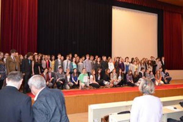 Študenti. Ocenili 350 talentovaných žiakov z Prešovského kraja.