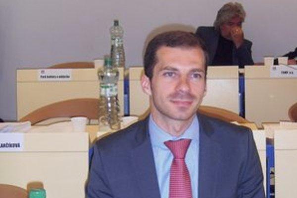 Radovan Gondžúr. Nový člen poslaneckého zboru.