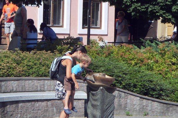 Osvieženie. Pre malé deti je to rýchle osvieženie aj zážitok.