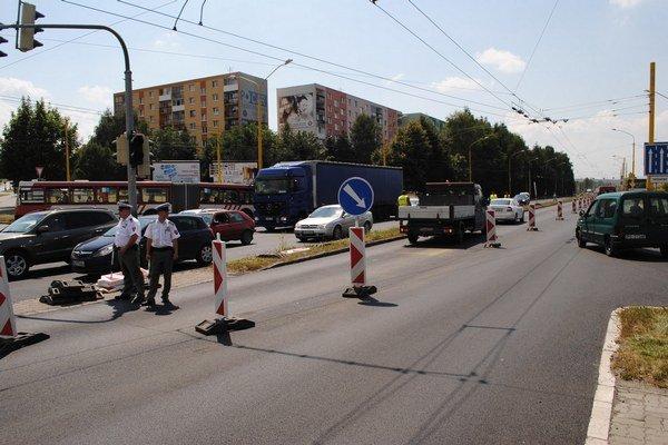 Hlavná dopravná tepna na najväčšom prešovskom sídlisku je opravená.
