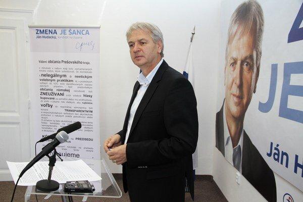 Ján Hudacký vyšiel s iniciatívou proti kupovaniu rómskych hlasov.