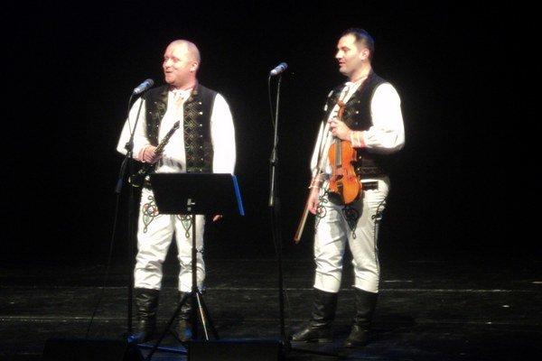 Šarišanské duo. Peter Škerlík (vľavo) a Marián Sirka.
