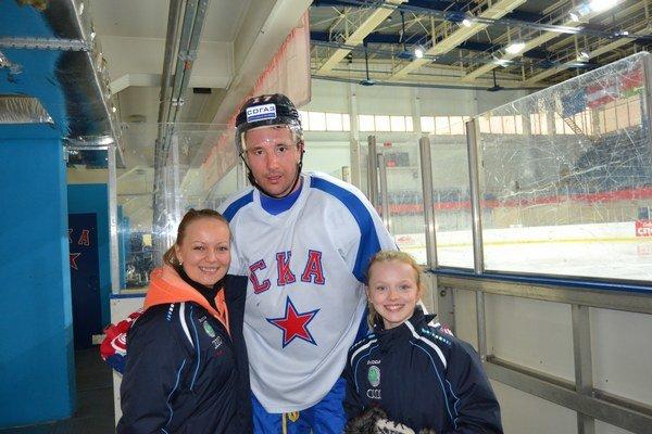 Zážitok. Stretnutie s hviezdnym hokejistom Iľjom Kovaľčukom.
