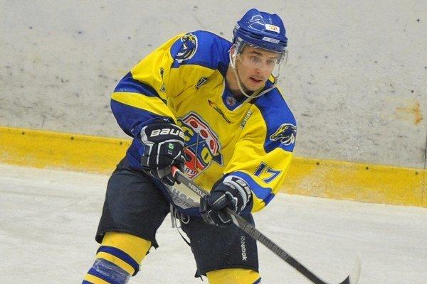 Filip Podsedlý. Dal jeden zo svojich dôležitých gólov v sezóne.