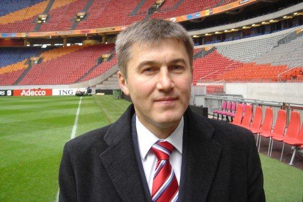 Z arbitra funkcionár. V. Laskovský nesľubuje, delegátom navrhne konkrétne riešenia.