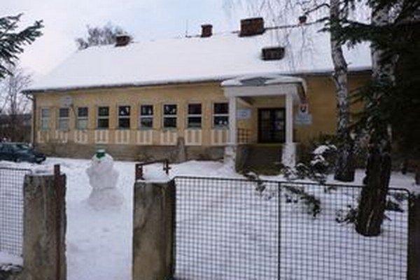 Rusínska škola v obci Čabiny.