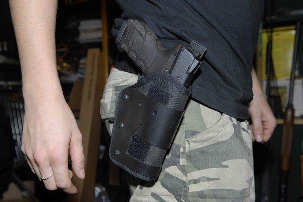 Zbrane v Prešovskom kraji. V obehu sú aj nelegálne.