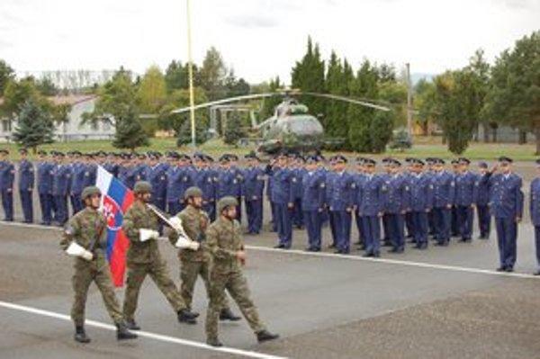 Vrtuľníkové krídlo zostáva v Prešove.