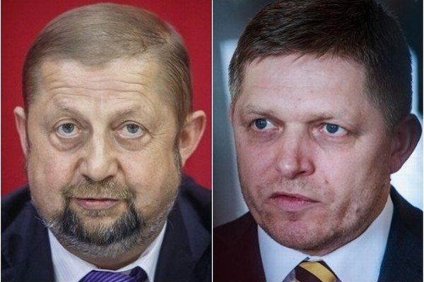 Premiér Robert Fico a sudca Štefan Harabin sú známi bojovníci s médiami.