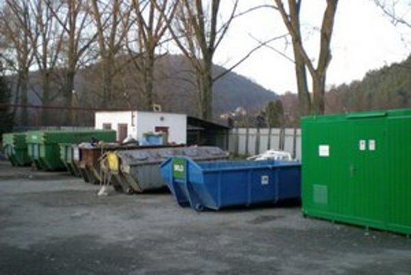 Zberný dvor. Aj tu môžu Prešovčania svoj odpad odložiť.