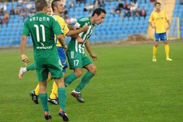 Aj Peter Katona (vľavo) mal podiel na víťazstve juniorov Tatrana.