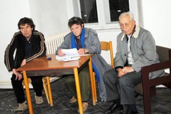 Výbor prešovskej ROS. Povedie ho Fedor Vico (uprostred).