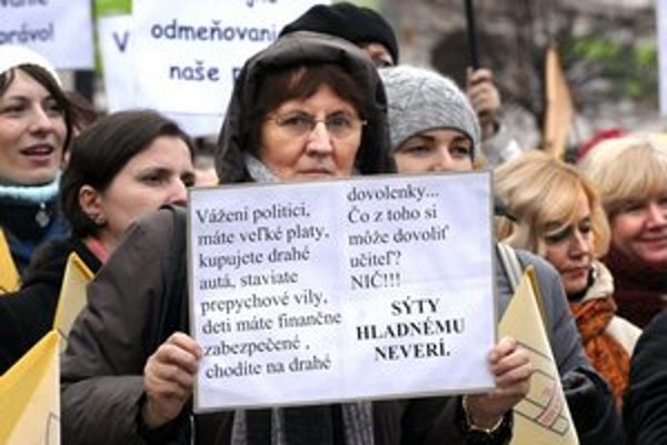 Štrajk bude pokračovať protestom v Prešove.