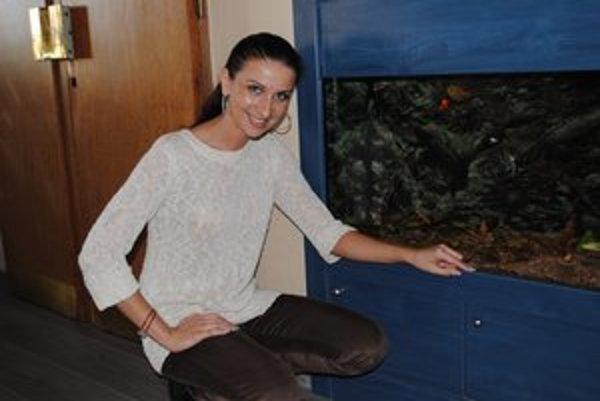 Prednostka Kireta. So zdedeným akváriom mala smolu.