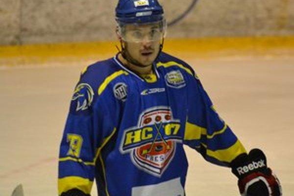 Ján Románek. Prišiel Prešovu pomôcť a prežil na východe zaujímavú sezónu.