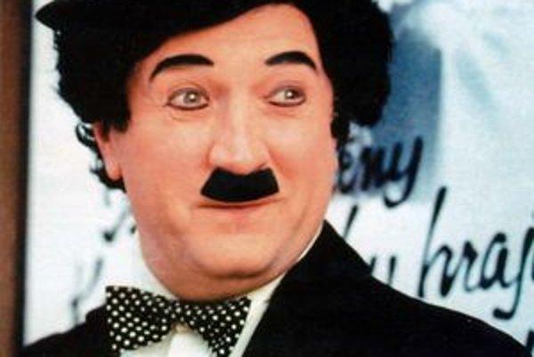 Text k foto: Štefan Senko. Ako Chaplin na doskách DJZ.