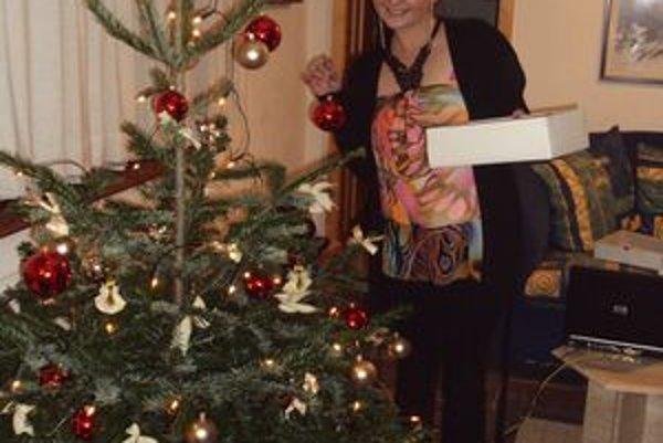 Mária Ihnátová. Prvé Vianoce vo Švajčiarsku strávila v práci, kde nemali ani vianočný stromček.