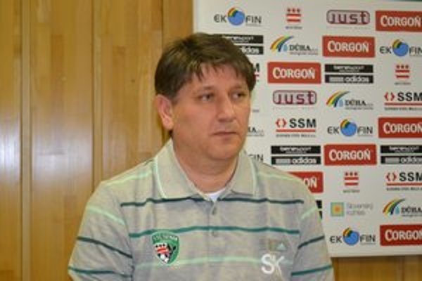 Sergij Kovalec. Tréner 1. FC Tatran Prešov verí, že sústredenie, ale i prípravné zápasy jeho zverencov dostatočne preverili.