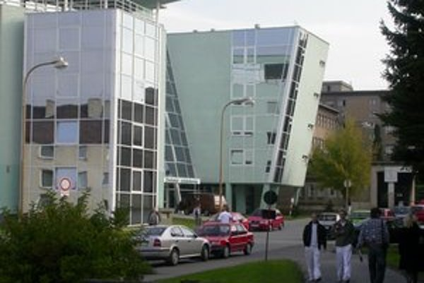 Detská nemocnica v Prešove. S chorým dieťaťom môže ostať v nemocnici len matka.