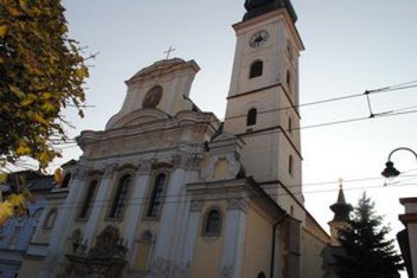Gréckokatolícky chrám. Katedrála sv. Jána Krstiteľa v Prešove.