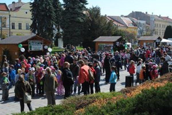 Vysoká účasť. O Lesné dni bol v Prešove záujem.