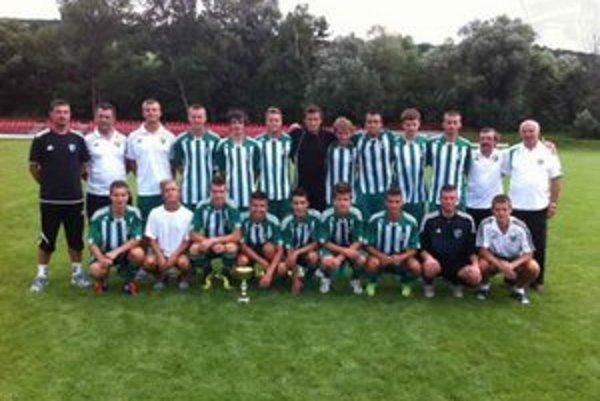 Víťazi turnaja SNP. Starší dorastenci (U19) 1.FC Tatran Prešov nenašli na turnaji premožiteľa.