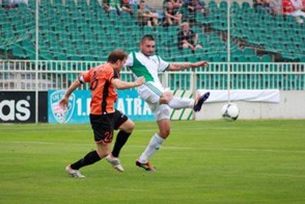 Obranca 1. FC Tatran Prešov Jozef Adámik konštatoval, že k dobrému umiestneniu v tabuľke sú potrebné body aj zvonku.