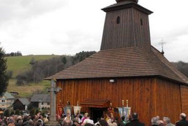 Chrám svätého evanjelistu Lukáša. Po rekonštrukcii ho opätovne posvätili.