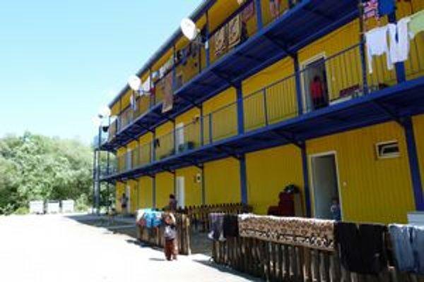 Mestská ubytovňa vo Svidníku. Svidnícki Rómovia ju obývajú už viac ako dva roky.