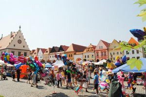 Bardejovský jarmok do mesta pritiahol tisíce návštevníkov.