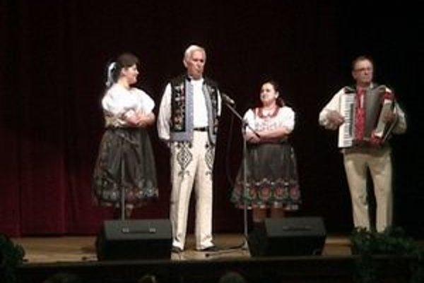 Rodina Grejtáková z Malého Šariša. Na súťaži Spieva celá rodina získali cenu Laureát a Zlaté pásmo.