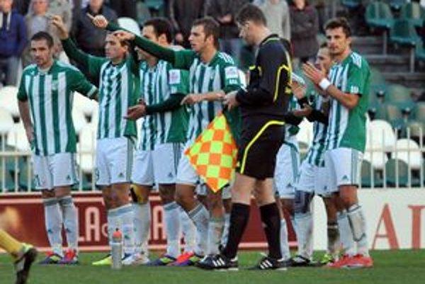 Hráči 1. FC Tatran Prešov. V posledných dueloch sa strelecky prebudili.