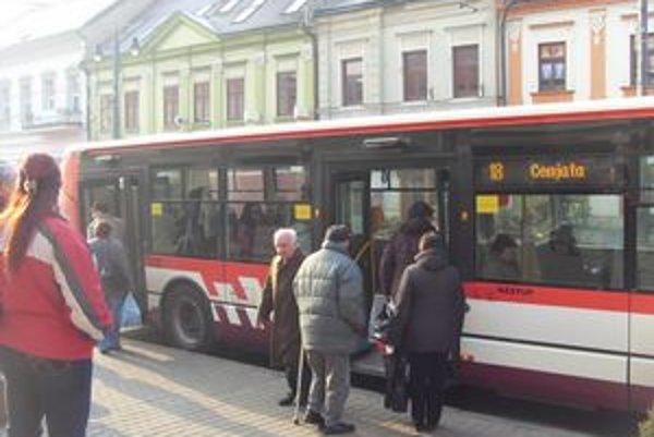 Mestská doprava. Investor chce zaviesť elektrobusy.