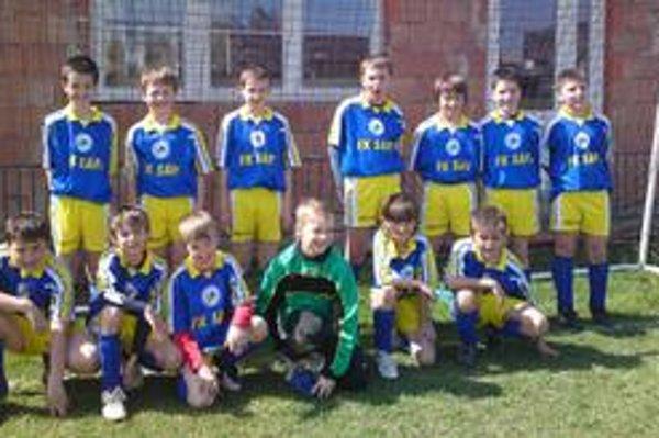Starší chlapci Prešova vybojovali druhé miesto.