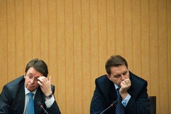 Kažimíra podporil Medzinárodný menový fond, Mikloš sa jeho analytikom čuduje.