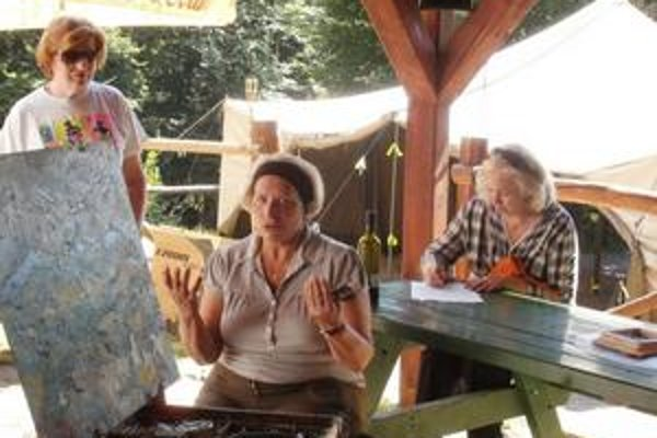 Tvorba. Práce výtvarníkov si môžete pozrieť do 10. septembra v Prešove.